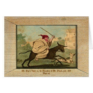 Punch & Judy Picture Plate VII Card