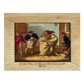 Punch & Judy Picture Plate XIII Postcard Post Cards