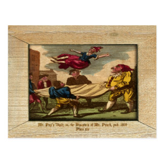 Punch & Judy Picture Plate XIV Postcard