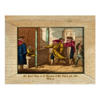 Punch & Judy Picture Plate XV Postcard Post Cards