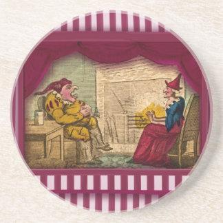 Punch & Judy Scene I Coasters