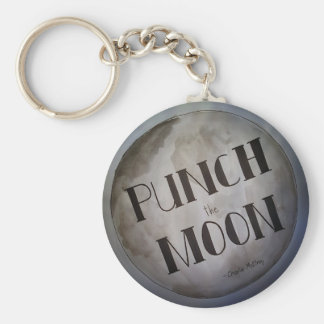Punch The Moon products Keychain