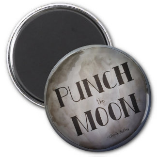 Punch The Moon products Magnet