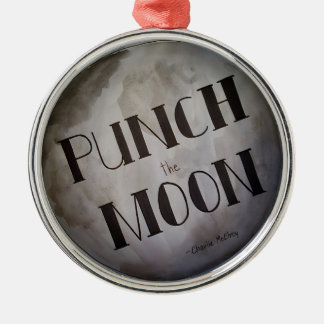 Punch The Moon products Metal Ornament