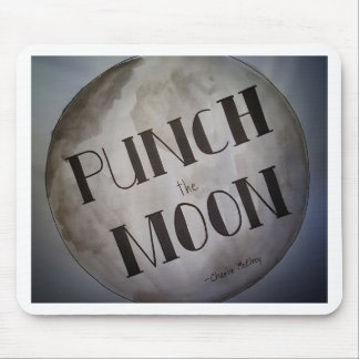 Punch The Moon products Mouse Pad