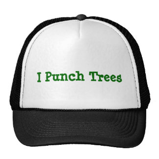 Punch Trees Trucker Hat