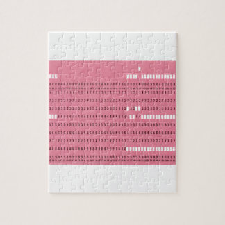 Punched card transparent background jigsaw puzzle