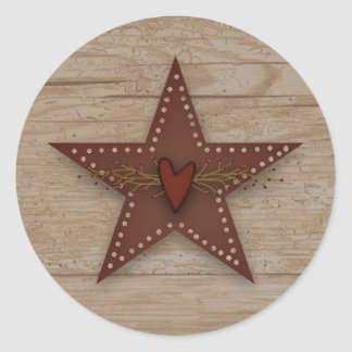Punched Tin Star Sticker