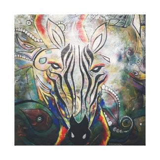 Punda Malia by Keangelides Canvas Print