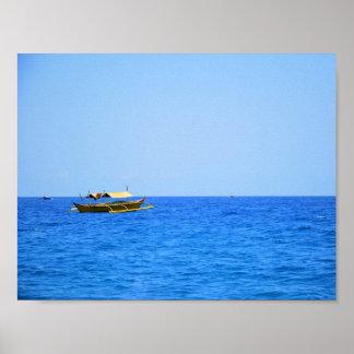 Pundaquit Boat in Zambales Poster