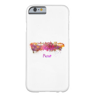 Pune skyline in watercolor barely there iPhone 6 case