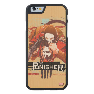 Punisher Extraction Protocol Carved Maple iPhone 6 Case