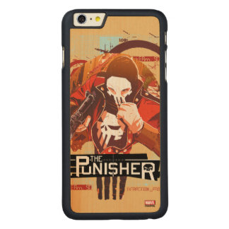 Punisher Extraction Protocol Carved Maple iPhone 6 Plus Case