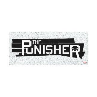 Punisher Logo Canvas Print