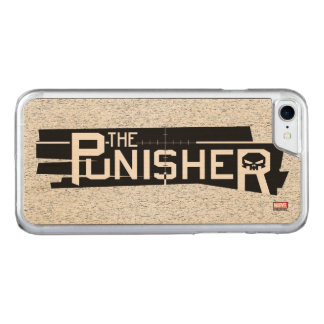 Punisher Logo Carved iPhone 8/7 Case