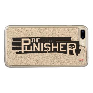 Punisher Logo Carved iPhone 8 Plus/7 Plus Case