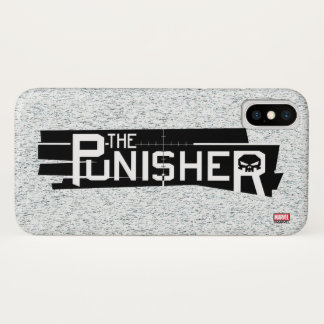 Punisher Logo iPhone X Case