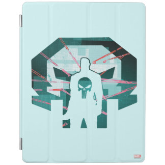 Punisher Logo Silhouette iPad Cover