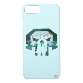 Punisher Logo Silhouette iPhone 8/7 Case