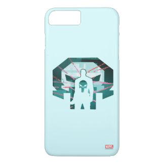 Punisher Logo Silhouette iPhone 8 Plus/7 Plus Case
