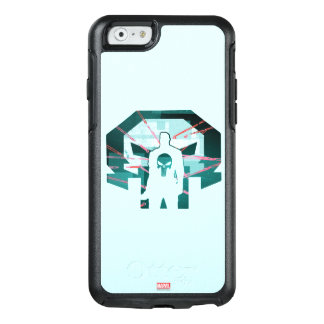 Punisher Logo Silhouette OtterBox iPhone 6/6s Case