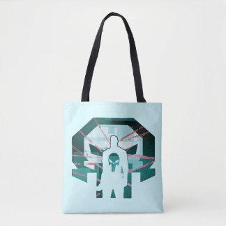 Punisher Logo Silhouette Tote Bag