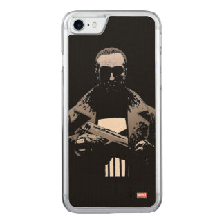 Punisher Out Of The Shadows Carved iPhone 8/7 Case