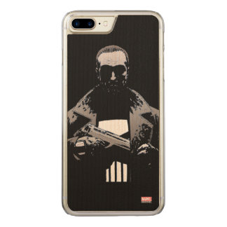 Punisher Out Of The Shadows Carved iPhone 8 Plus/7 Plus Case