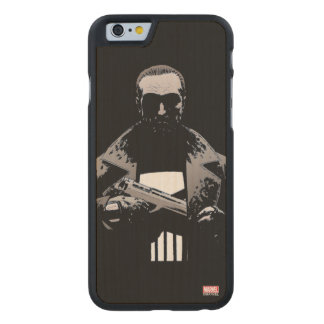 Punisher Out Of The Shadows Carved Maple iPhone 6 Case