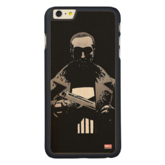 Punisher Out Of The Shadows Carved Maple iPhone 6 Plus Case