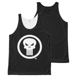 Punisher Skull Icon All-Over-Print Tank Top