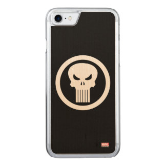 Punisher Skull Icon Carved iPhone 8/7 Case