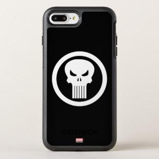 Punisher Skull Icon OtterBox Symmetry iPhone 8 Plus/7 Plus Case