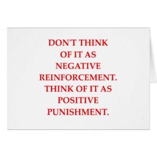 PUNISHMENT CARD
