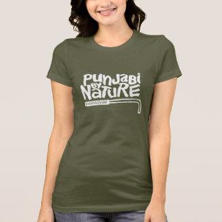 Punjabi By Nature (Female - Dark) T-Shirt
