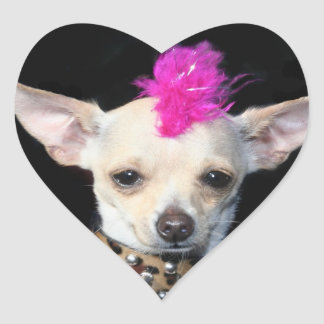 Punk Chihuahua Stickers