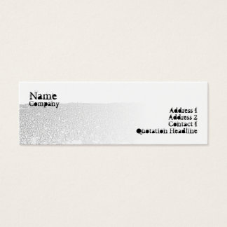 Punk Crowd - Skinny Mini Business Card