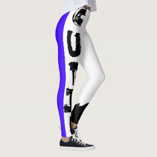 Punk Cutie, Concord Grape Leggings