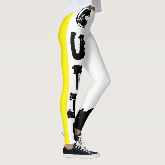 Punk Cutie, Yellow Leggings