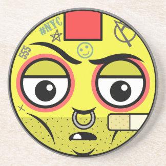 Punk Face Coaster