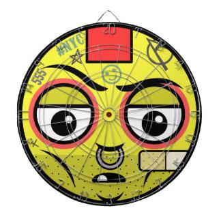 Punk  Face Dartboard
