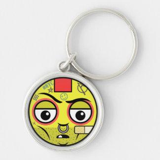 Punk Face Keychain