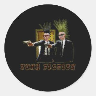 Punk Fiction V3 - 022 Classic Round Sticker