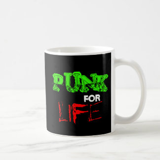 Punk For Life Coffee Mug