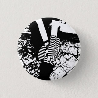 punk hearted 1 inch round button