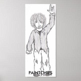 Punk-Hippie Poster