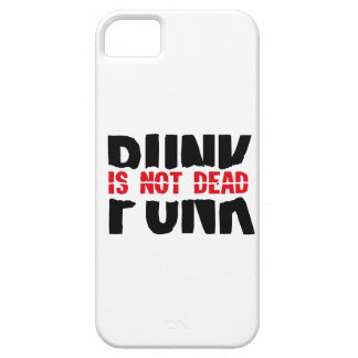 Punk is emergency DEAD iPhone 5 Covers