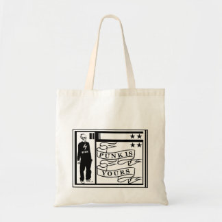 PUNK IS YOURS. TOTE BAG