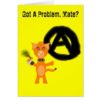 Punk Kat Card