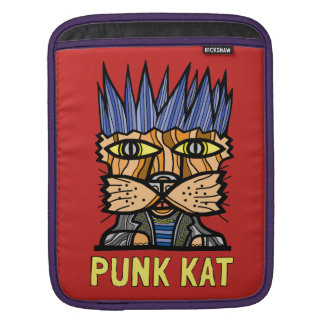 """Punk Kat"" iPad, iPad Mini, MacBook Air Sleeve"